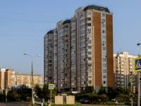 район Марьино, улица Белореченская, дом 34 к.1. многоквартирный дом