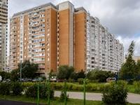 район Марьино, улица Белореченская, дом 37 к.2. многоквартирный дом