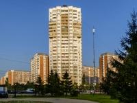район Марьино, улица Белореченская, дом 41 к.1. многоквартирный дом