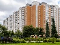 район Марьино, улица Белореченская, дом 41 к.2. многоквартирный дом