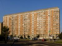 район Марьино, улица Белореченская, дом 43. многоквартирный дом