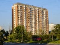 район Марьино, улица Белореченская, дом 45 к.1. многоквартирный дом