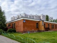 Марьино район, улица Братиславская, дом 10 к.1. офисное здание