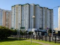 Марьино район, улица Братиславская, дом 12. многоквартирный дом