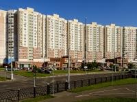 Марьино район, улица Братиславская, дом 13 к.1. многоквартирный дом