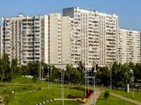 Марьино район, улица Братиславская, дом 15 к.1. многоквартирный дом