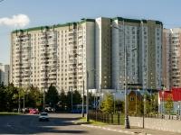 Марьино район, улица Братиславская, дом 16 к.1. многоквартирный дом