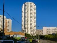 район Марьино, улица Верхние Поля, дом 16 к.1. многоквартирный дом