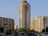 район Марьино, улица Верхние Поля, дом 34 к.1. многоквартирный дом