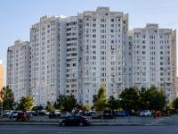 район Марьино, улица Верхние Поля, дом 40 к.1. многоквартирный дом