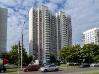район Марьино, Мячковский бульвар, дом 14 к.2. многоквартирный дом