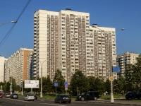 район Марьино, Перервинский бульвар, дом 1. многоквартирный дом