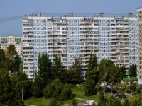 район Марьино, улица Донецкая, дом 12. многоквартирный дом