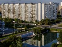 район Марьино, улица Маршала Голованова, дом 11. многоквартирный дом