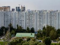 район Марьино, улица Маршала Голованова, дом 12. многоквартирный дом