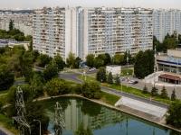 район Марьино, улица Маршала Голованова, дом 16. многоквартирный дом