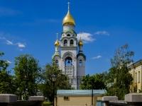 Нижегородский район, улица Рогожский посёлок, дом 29 с.1. Храм-колокольня  Воскресения Христова