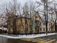 Печатники район, проезд 1-й Курьяновский, дом 8. многоквартирный дом