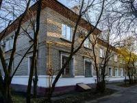 район Печатники, улица 1-я Курьяновская, дом 10. многоквартирный дом