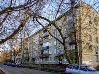 район Печатники, улица 4-я Курьяновская, дом 1. многоквартирный дом