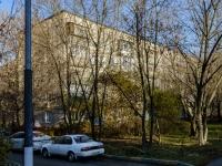 район Печатники, улица Батюнинская, дом 2 к.1. многоквартирный дом