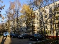 район Печатники, улица Батюнинская, дом 3. многоквартирный дом