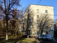 район Печатники, улица Батюнинская, дом 4. многоквартирный дом