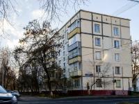 район Печатники, улица Батюнинская, дом 7. многоквартирный дом