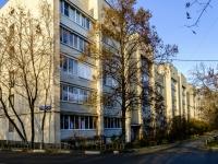 район Печатники, улица Батюнинская, дом 10. многоквартирный дом