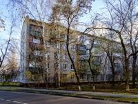 район Печатники, улица Батюнинская, дом 11. многоквартирный дом
