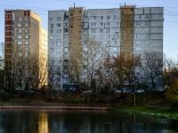 район Печатники, улица Батюнинская, дом 12. многоквартирный дом