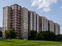 район Печатники, улица Батюнинская, дом 14. многоквартирный дом