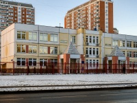 Печатники район, улица Гурьянова, дом 8. Школа №1524