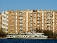 Печатники район, улица Гурьянова, дом 8 к.1. многоквартирный дом