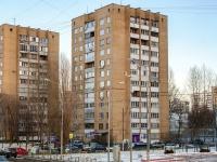 Печатники район, улица Гурьянова, дом 13. многоквартирный дом