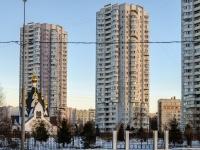 Печатники район, улица Гурьянова, дом 17 к.2. многоквартирный дом