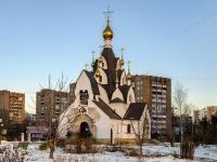 Печатники район, улица Гурьянова, дом 18. храм