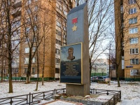 Печатники район, улица Гурьянова. памятник М.А. Гурьянову