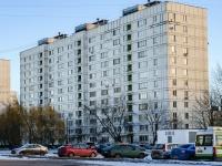 район Печатники, улица Кухмистерова, дом 6. многоквартирный дом
