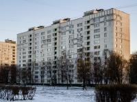 район Печатники, улица Кухмистерова, дом 8. многоквартирный дом