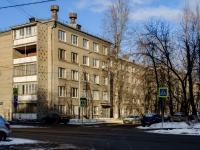 Южнопортовый район, улица Кожуховская 5-я, дом 19 к.1. многоквартирный дом