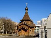 Южнопортовый район, улица Мельникова. часовня