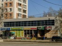 улица Симоновский Вал, дом 13. многофункциональное здание