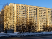 Южнопортовый район, улица Шарикоподшипниковская, дом 18. многоквартирный дом