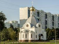 Бирюлёво Восточное район, проезд Михневский, дом 2. храм Входа Господня в Иерусалим
