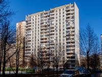Бирюлёво Западное район, проезд Харьковский, дом 9 к.1. многоквартирный дом