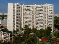 улица Борисовские Пруды, дом 8 к.1. многоквартирный дом