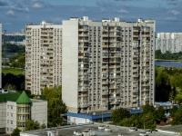 улица Борисовские Пруды, дом 10 к.1. многоквартирный дом