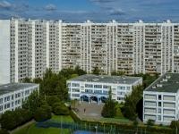 улица Борисовские Пруды, дом 12 к.1. многоквартирный дом