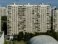 улица Борисовские Пруды, дом 14 к.1. многоквартирный дом